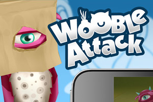 Wooble Attack Mobile Game
